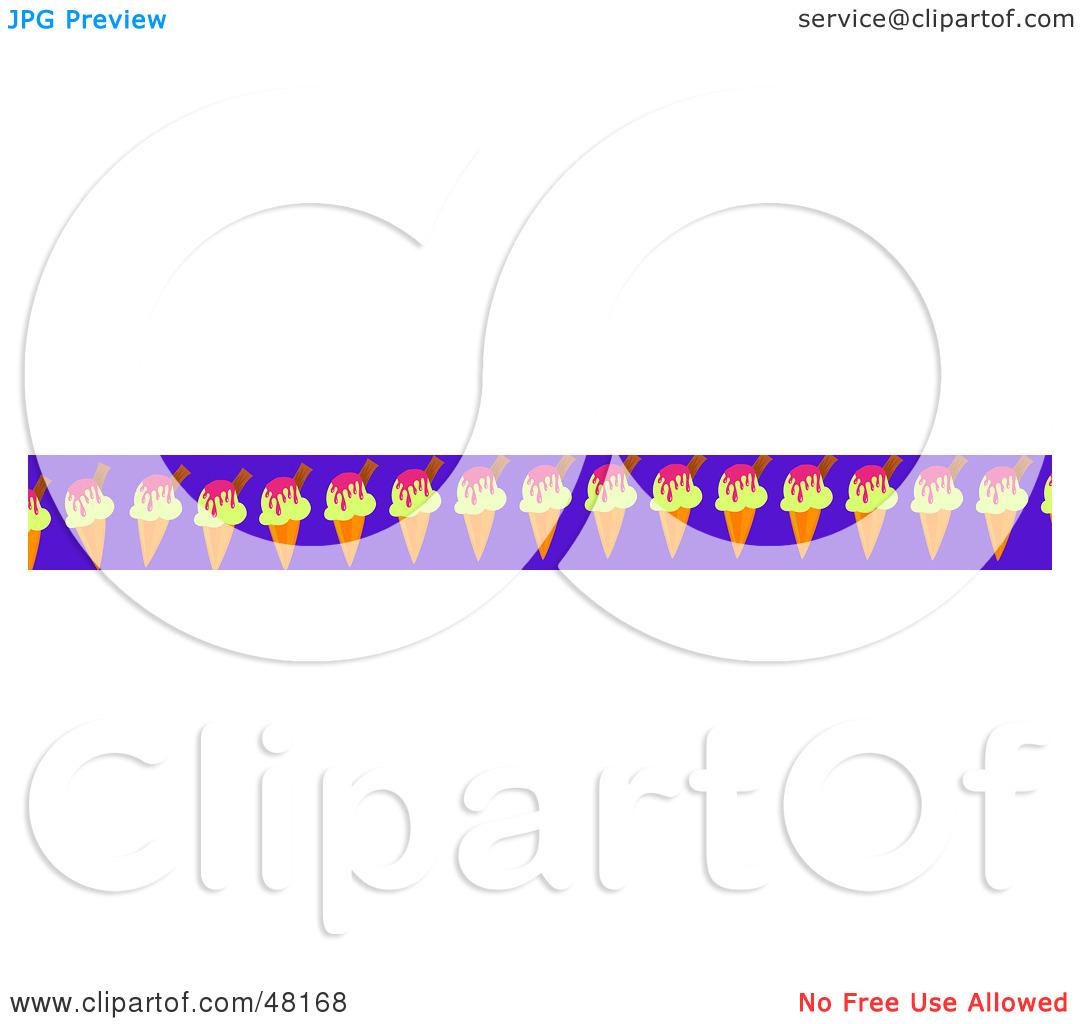 1080x1024 Ice Cream Cone Border Clip Art