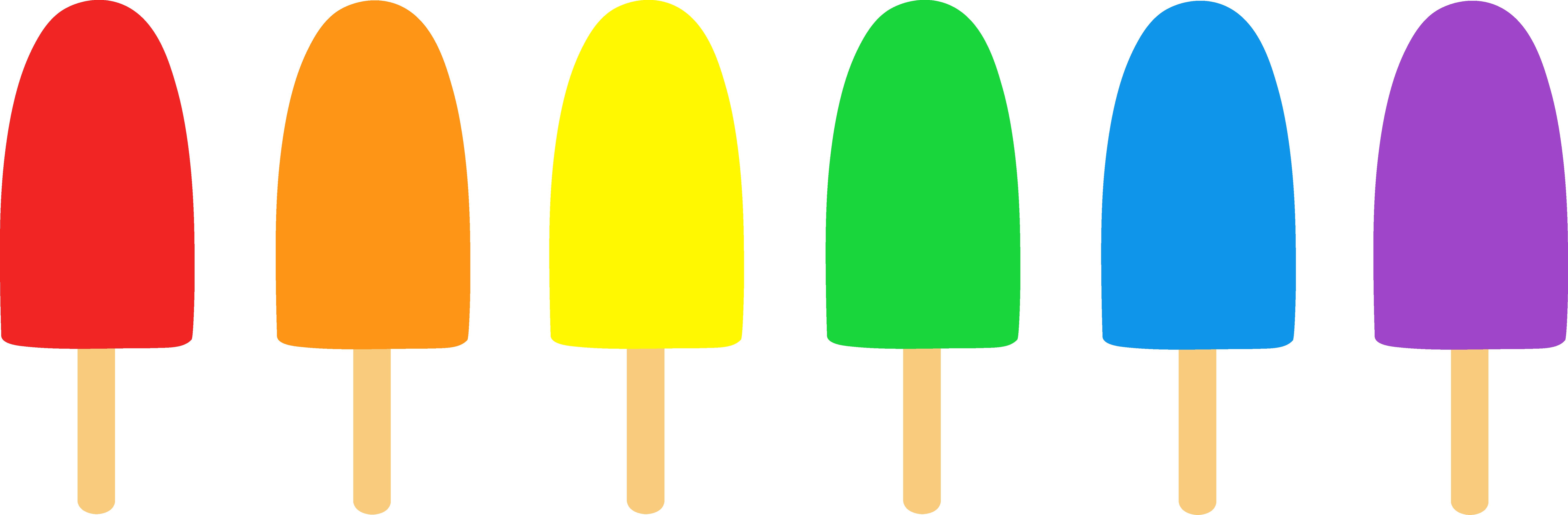 7825x2573 Best Ice Cream Border Clip Art