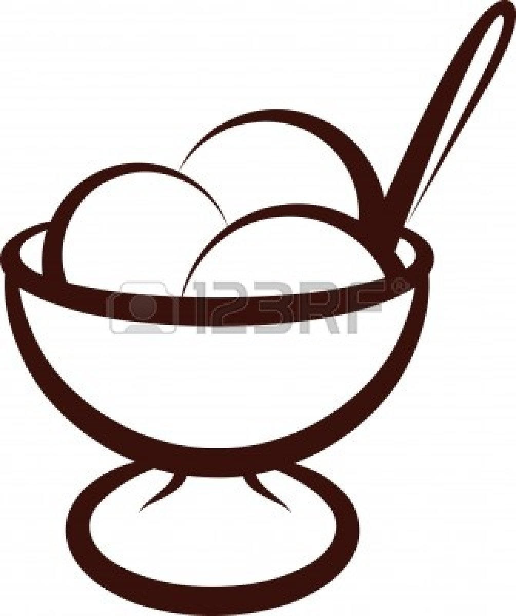 1005x1200 In The Desert Clipart Ice Cream Cup