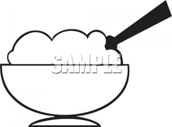 350x258 Spoon Clipart Icecream