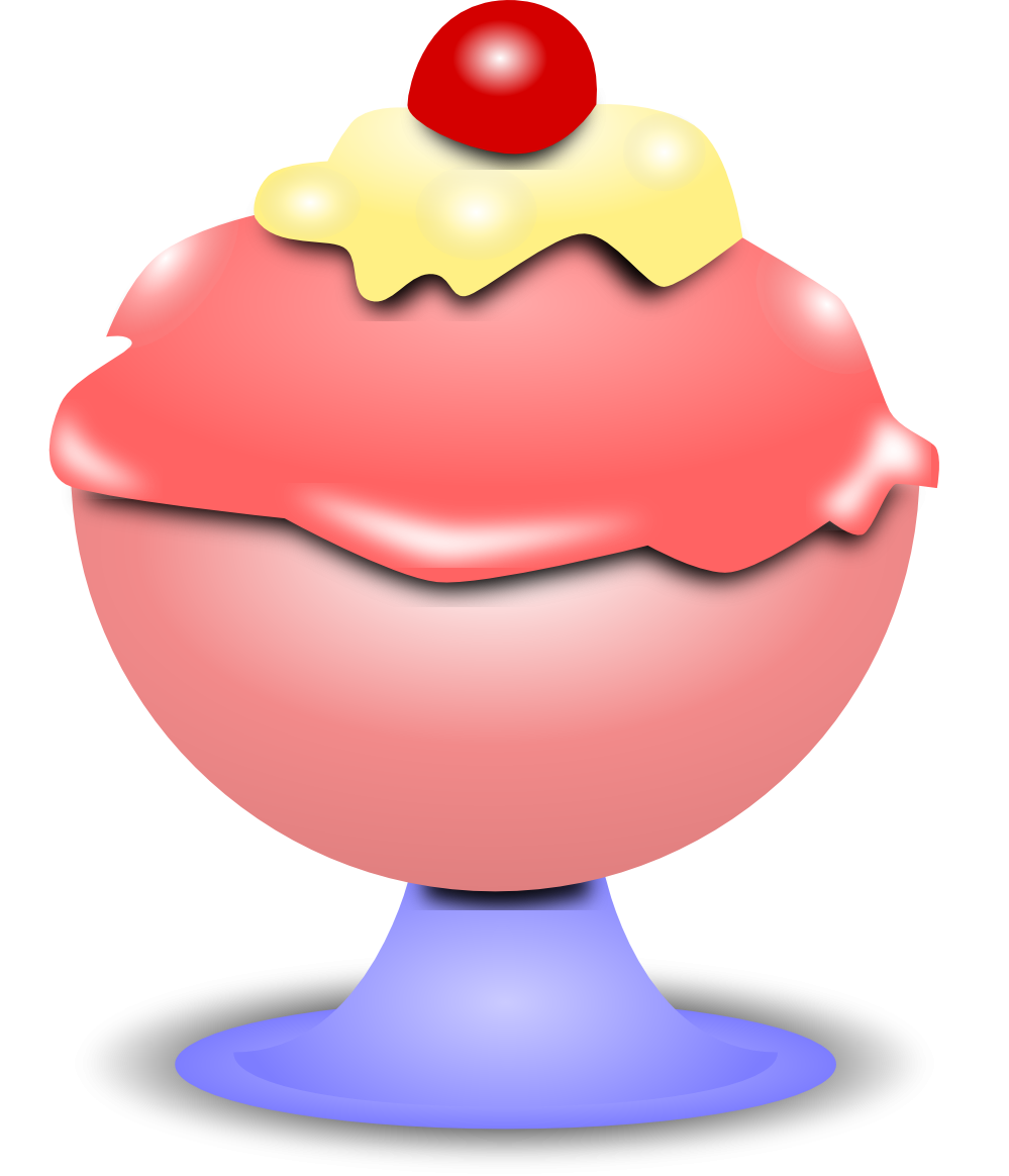 999x1164 Best Ice Cream Bowl Clipart