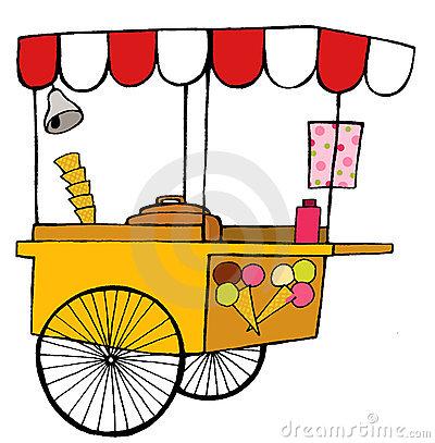 400x407 Ice Cream Cart Clipart 101 Clip Art
