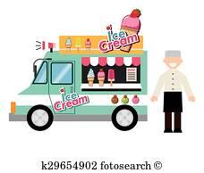 228x194 Ice Cream Truck Clip Art EPS Images 747 Clipart