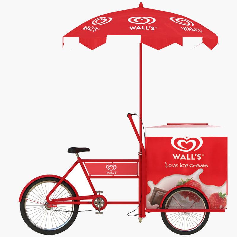 800x800 Ice Cream Cart
