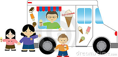 400x193 Car Clipart Ice Cream