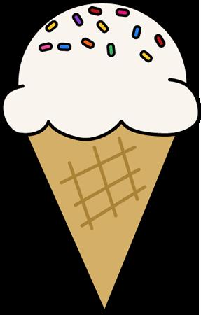 287x450 Ice Cream With Sprinkles Clip Art