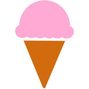 300x300 Ice Cream Cone Ice Creamne Clip Art Summer Clipart Ice Image 3