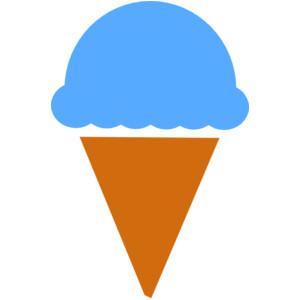 300x300 Orange Ice Cream Clip Art Cliparts
