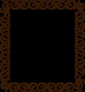 276x298 Clipart Borders Free Chocolate