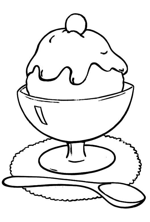 528x778 The Best Ice Cream Coloring Pages Ideas Ice
