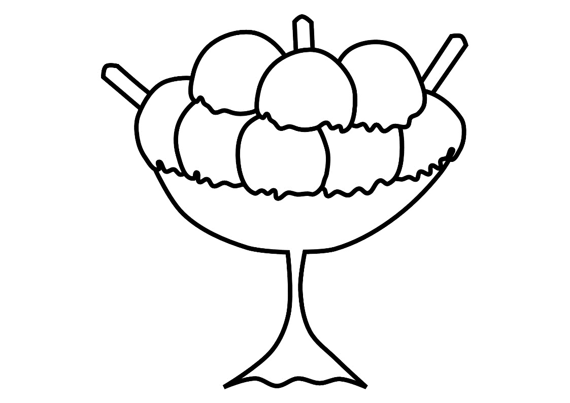 1123x794 Beautiful Ice Cream Coloring Pages 74 On Gallery Coloring Ideas