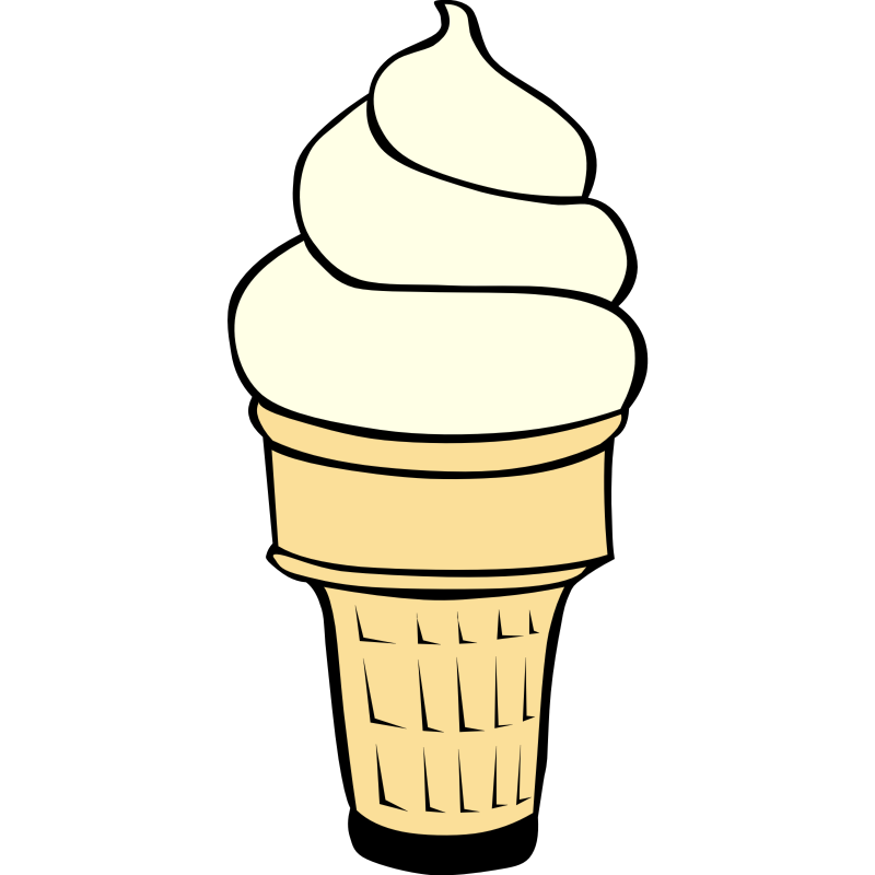 800x800 Melting Ice Cream Cone Clipart Black And White Clipartfest