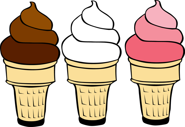600x412 Ice Cream Cartoon Clipart
