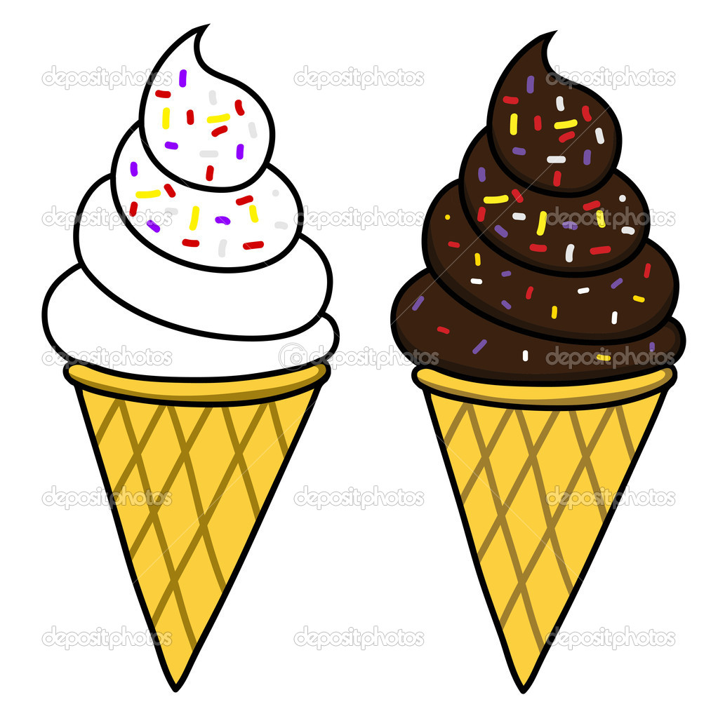 1023x1021 Best Photos Of Ice Cream Cone Cartoon