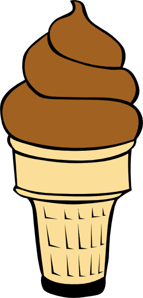 282x587 Soft Ice Cream Cones Ff Menu Clip Art