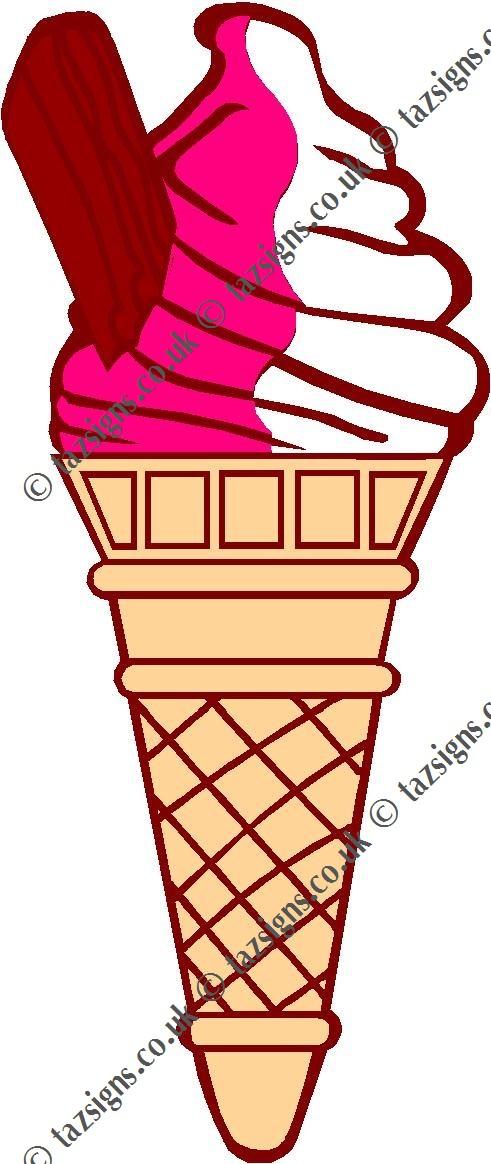 491x1164 Ice Cream No Cone Clipart