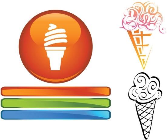 551x463 Ice Cream Cone Clip Art Free Vector Download Free