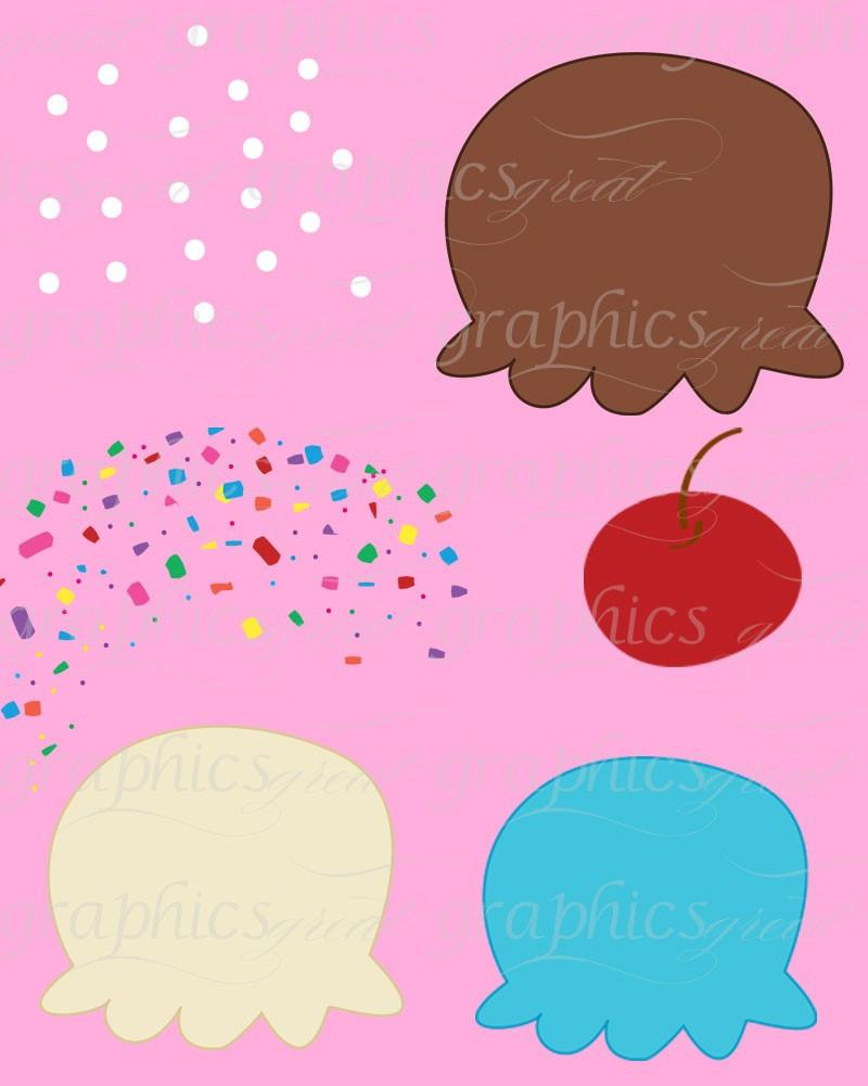800x1001 Ice Cream Clip Art, Digital Clip Art, Ice Cream Clipart, Digital