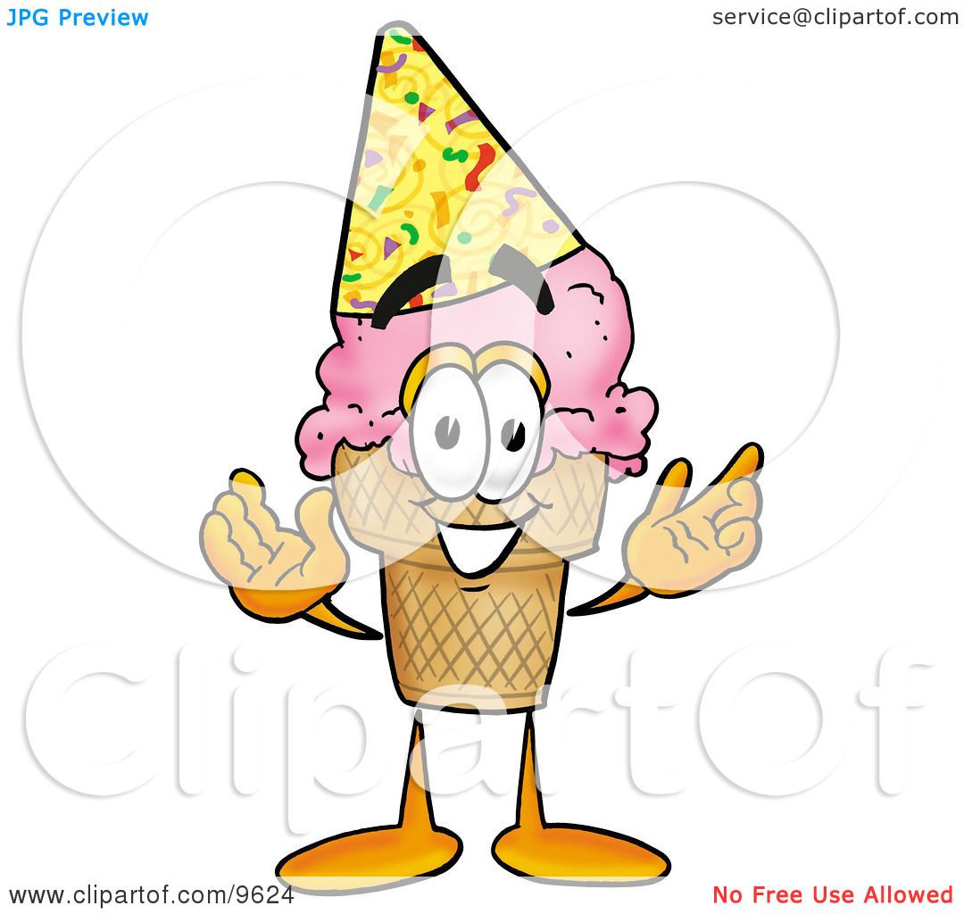 1080x1024 Ice Cream Party Clipart