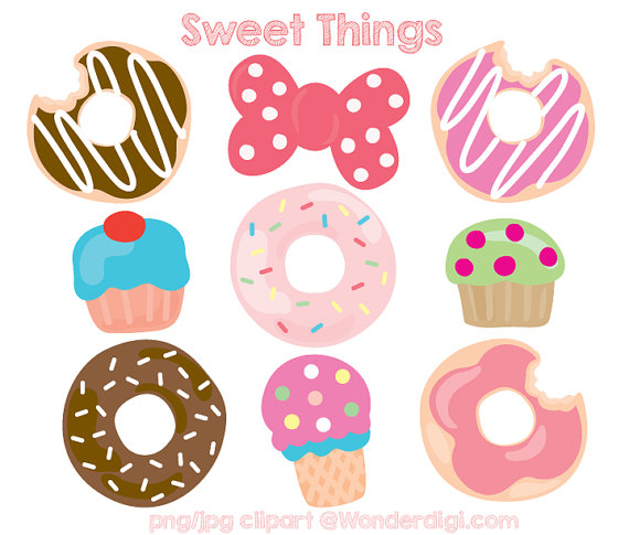 570x485 Sweets Clipart