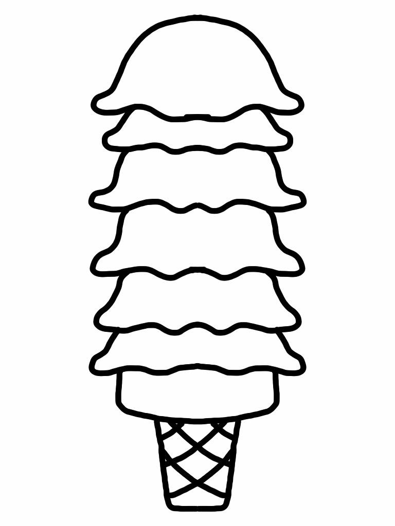 768x1024 Ice Cream Scoop Clipart 14