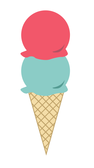 316x562 Free Ice Cream Scoop Clipart Image