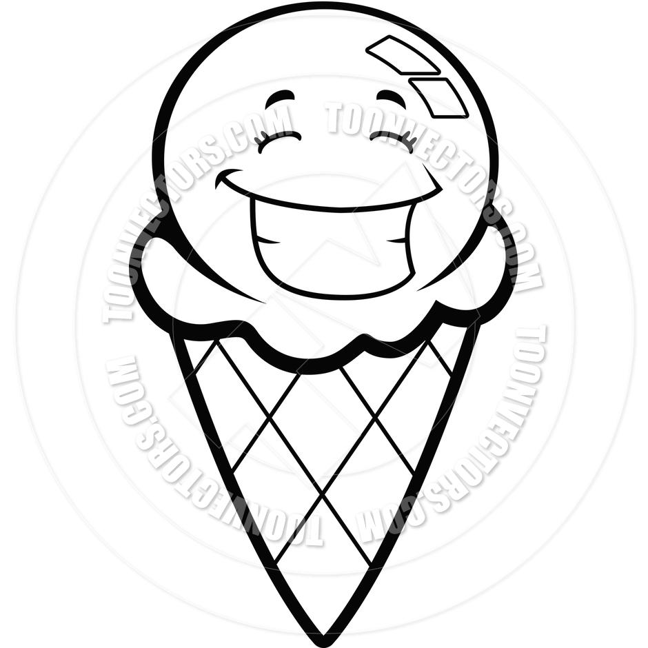 940x940 Ice Cream Scoop Clip Art Black And White Clipart Panda