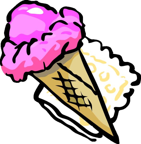 588x600 Best Ice Cream Scoop Clipart