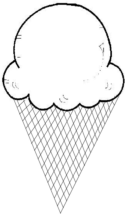 photograph relating to Ice Cream Cone Template Free Printable identified as Ice Product Scoops Template Cost-free down load easiest Ice Product