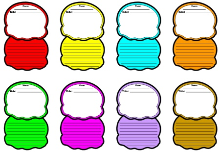 450x310 Ice Cream Color Poems Fun Ice Cream Shaped Writing Templates
