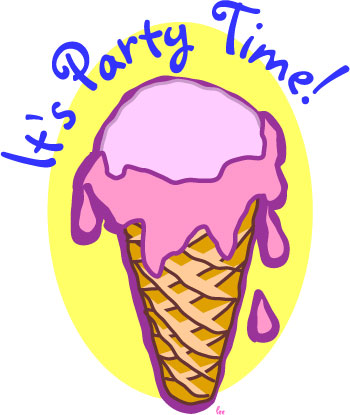 350x415 Pizza Clipart Ice Cream