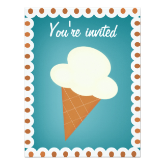 324x324 Ice Cream Social Invitations Amp Announcements Zazzle