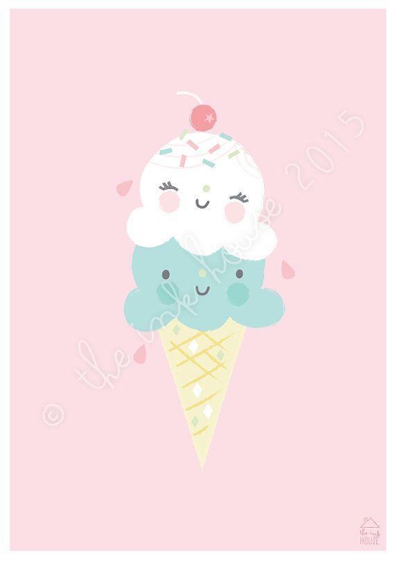 570x810 Best Cream Printed Art Ideas Ice Cream Humor