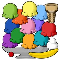 236x236 Ice Cream Sundae Clip Art Black And White Free 2