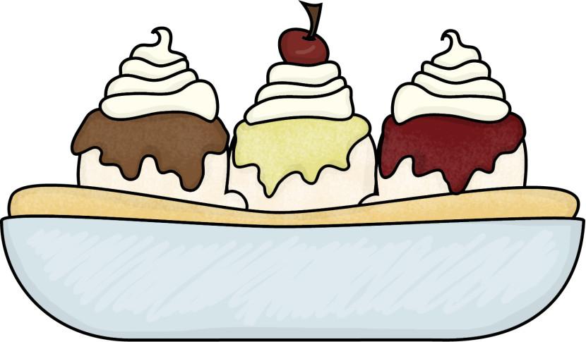 830x485 Ice Cream Sundae Ice Cream Bowl Clipart