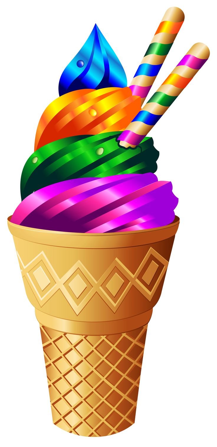 736x1516 Ice Cream Clipart Candyland