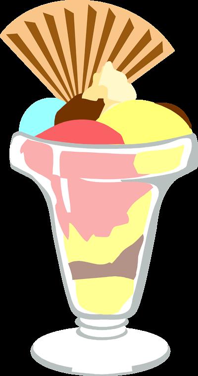 400x758 Free Clip Art Ice Cream Sundae Clipart 2