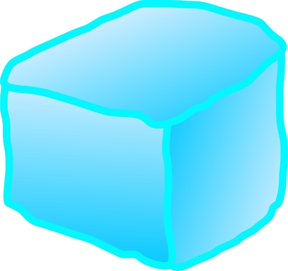 594x559 Ice Cube Clip Art Free Vector In Open Office Drawing Svg ( Svg