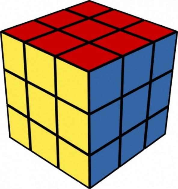 592x626 Cube Clip Art