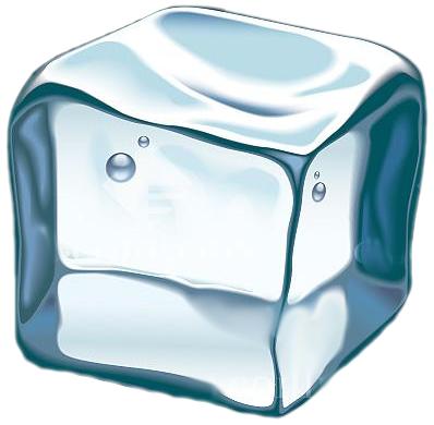 398x390 Ice Cube Cube Ice Clipart