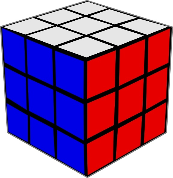 576x594 Rubik Cube Clip Art Free Vector In Open Office Drawing Svg ( Svg