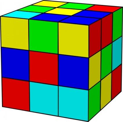 425x422 Cube Clip Art