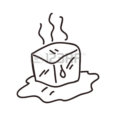 450x450 660 Ice Cube Melting Stock Illustrations, Cliparts And Royalty