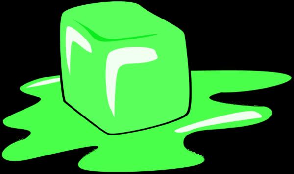 600x357 Melting Ice Cube Vector Clip Art 2