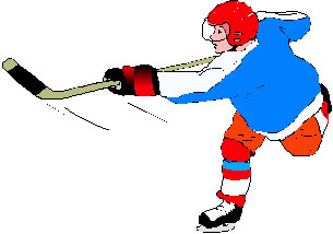 305x214 Ice Hockey Clip Art Shooter 1