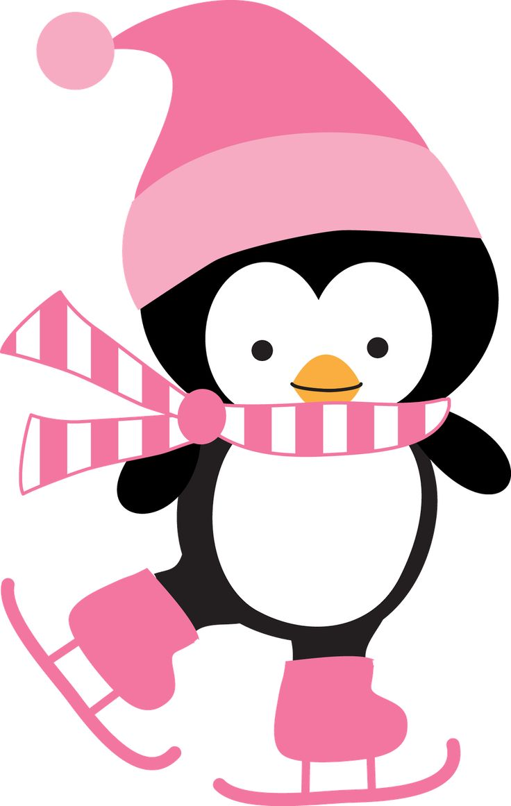 736x1161 Clipart Of Penguin Ice Skating