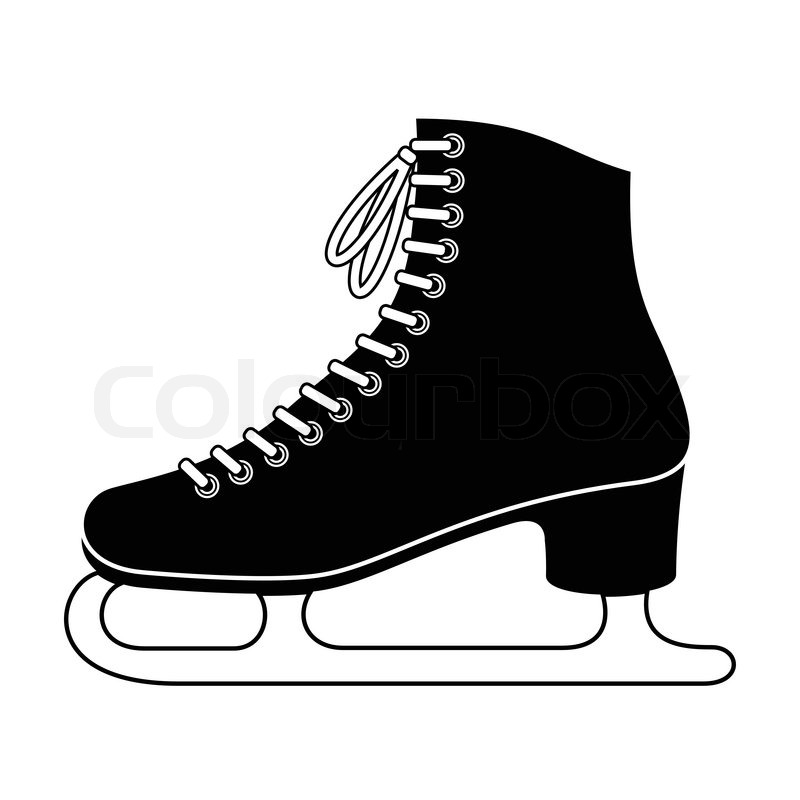800x800 Ice Skate Stock Vector Colourbox