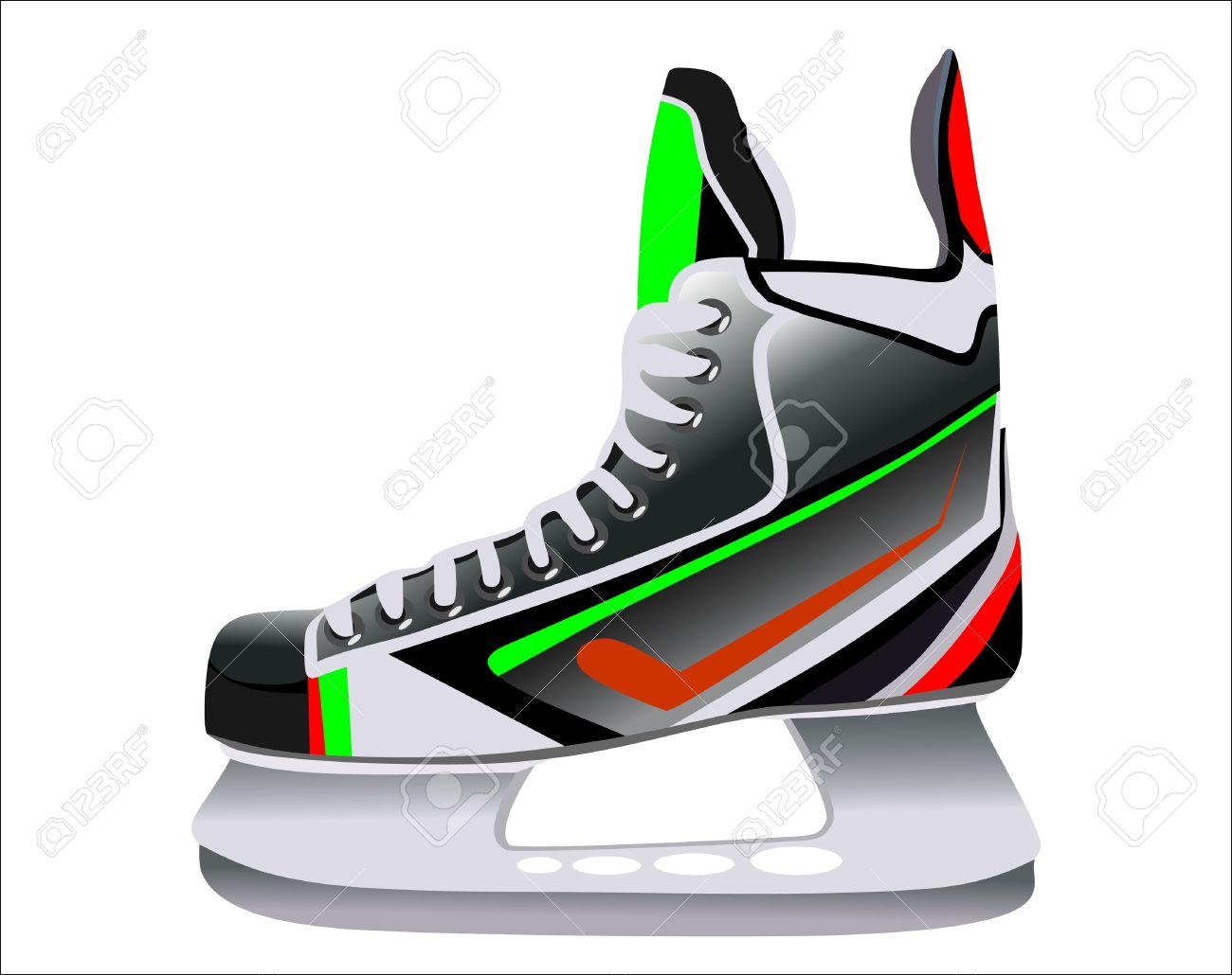 1300x1030 Blade Clipart Hockey Skate