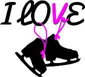 170x154 Ice Skate Clip Art