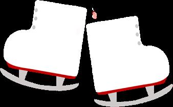 338x209 Pair Of Ice Skates Clip Art
